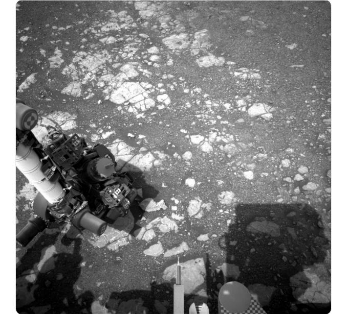 Marte: Robot de la NASA envía nuevas fotografías