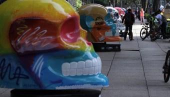 Exposición Mexicraneos Paseo De La Reforma Cuando Es, Día De Muertos, Exposiciones Día De Muertos, Mexicráneos, Paseo De La Reforma, Día De Muertos 2018