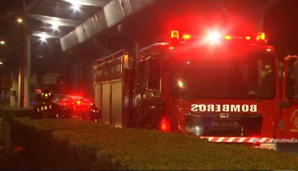 Incendio dentro de centro comercial en Chapultepec moviliza a bomberos