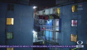 Incendio consume departamentos en la colonia Atlampla, CDMX