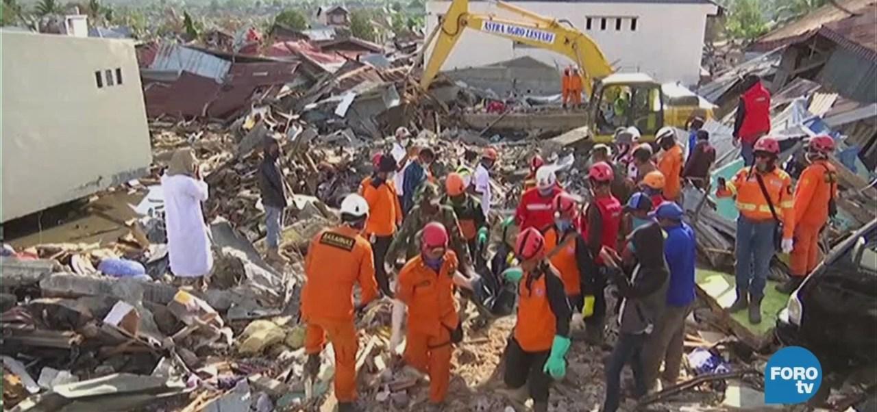 Indonesia Continúa Recuento Daños Tsunami Terremoto