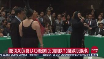 Instalan Comisión De Cultura Y Cinematografía Pequeño Espectáculo