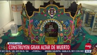 Instalan ofrenda en homenaje a Pedro Linares y sus alebrijes