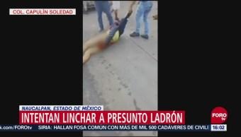 Intento de linchamiento en Naucalpan