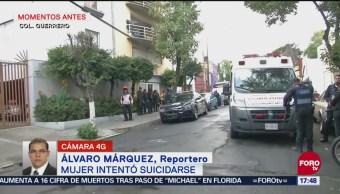Intento de suicidio moviliza cuerpos de emergencia en la colonia Guerrero
