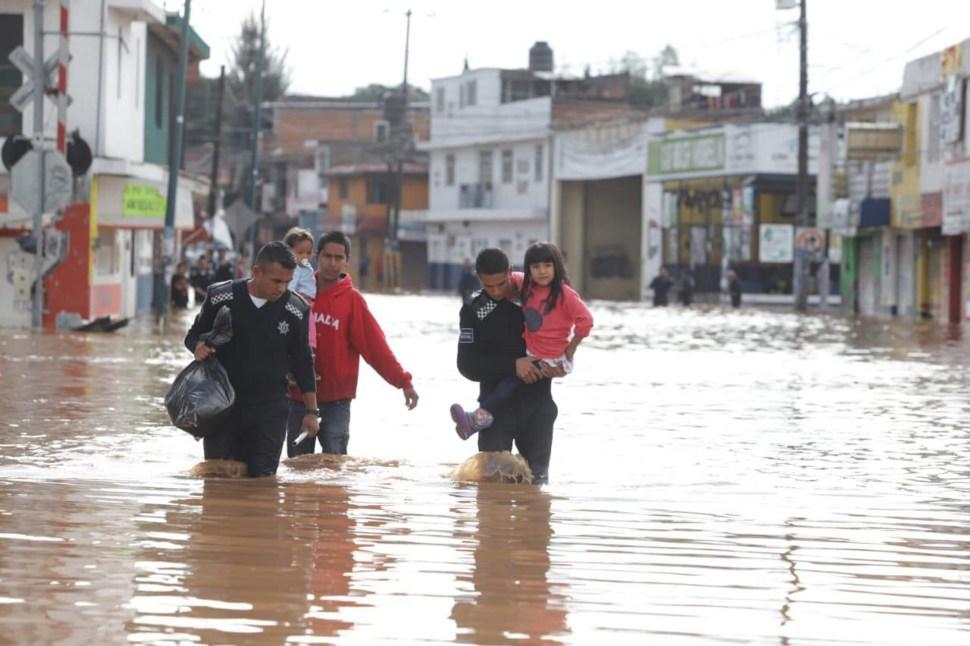 Clima Michoacán hoy; lluvias causan inundación en Morelia
