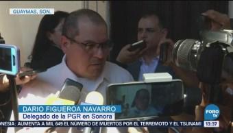Investigan Ataque Policías Guaymas, Sonora