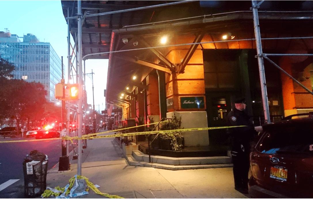 Investigan paquete sospechoso en el barrio de Tribeca, Nueva York. (AP)