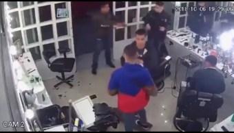 Investigan robo a estética en Santa María la Ribera