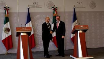 Relación de México y Francia vive un gran momento, Videgaray