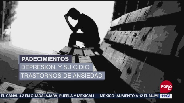 Jóvenes, más vulnerables a trastornos mentales