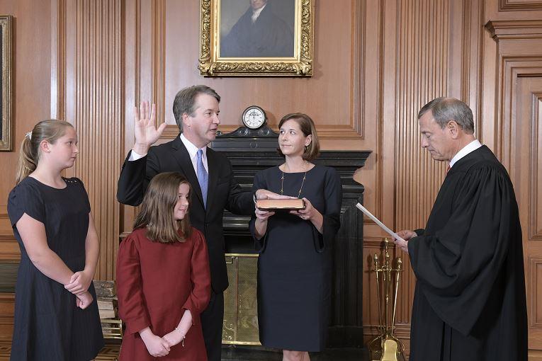 Juramentación pública de Kavanaugh será en la Casa Blanca