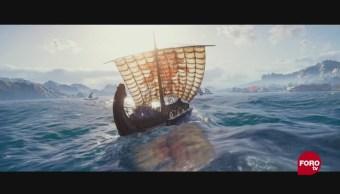 La historia popular videojuego Assassin's Creed diseñan