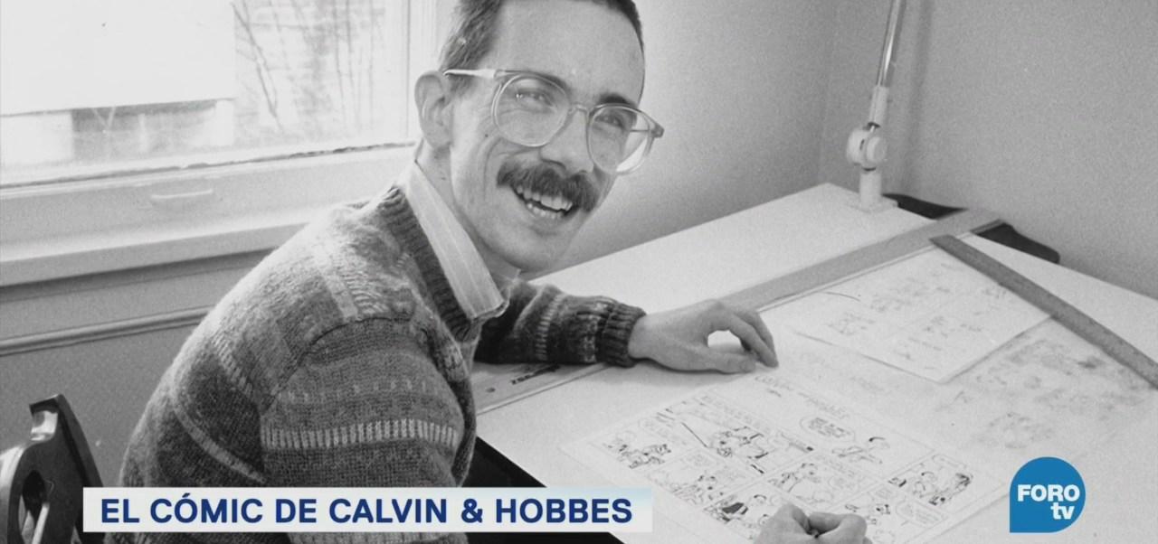 La Historieta Calvin & Hobbes Protagonistas Tigre De Peluche Artista Estadounidense Bill Watterson Mil 400 Periódicos