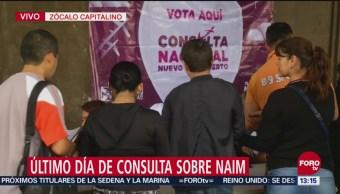 Ciudadanos Participan Consulta De Aeropuerto Zócalo
