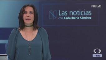 Las Noticias, con Karla Iberia: Programa del 9 de octubre de 2018