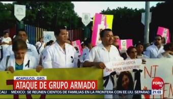 Exigen Esclarecer Asesinato Acapulco, Guerrero
