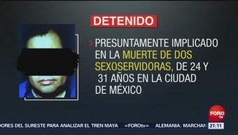 Detienen Presunto Feminicida Zapopan, Jalisco