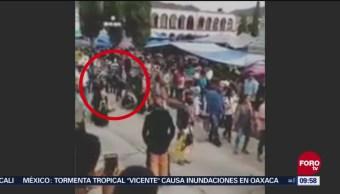 Asesinan A Danzante Fiesta Tlaxiaco, Oaxaca