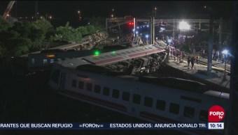 Descarrila Tren Taiwán Decenas Muertos