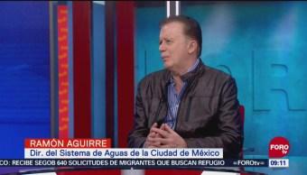 Daremos Fortaleza Sistema Cutzamala Mantenimiento Sacmex Ramón Aguirre, Director Del Sistema De Aguas De La Ciudad De México