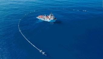 Limpiar-mar-plastico-isla-basura-tubo-Tubería-Contaminación