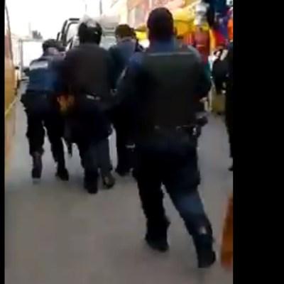 Rescatan a tres presuntos delincuentes de ser linchados en la GAM