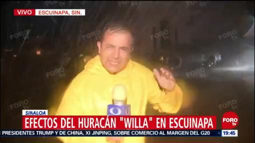 Llueve Copiosamente Escuinapa Sinaloa Huracán Willa