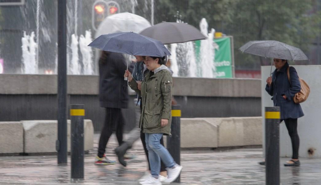 Alerta amarilla por lluvia y viento en ocho alcaldías
