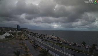 Clima Campeche hoy; cierran puertos por lluvias