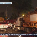 Lluvias e inundaciones afectan hospital en Ticomán
