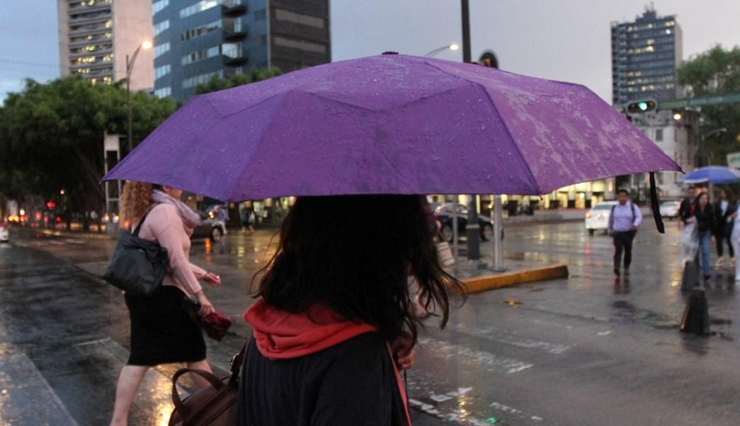 Lluvia hoy en Cdmx 13 de octubre pronostican