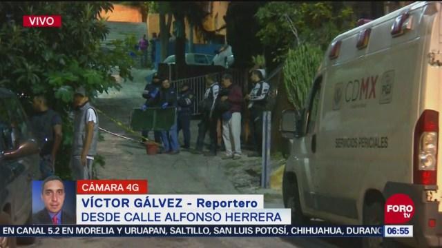 Localizan cadáver de hombre en la alcaldía Gustavo A. Madero