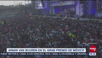 #LoEspectaculardeME: Armin Van Buuren cerrará Gran Premio de México 2018