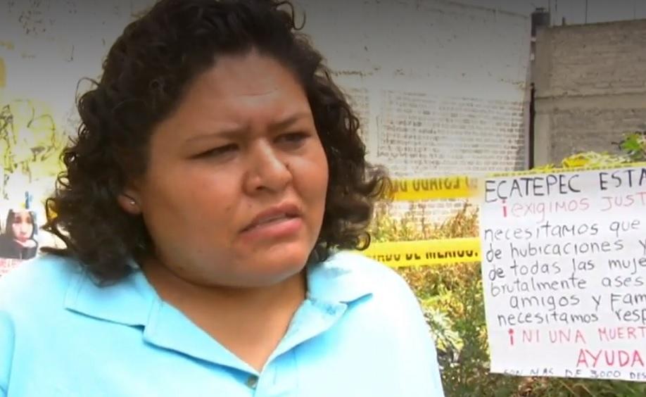 Madre de víctima del feminicida de Ecatepec exige justicia