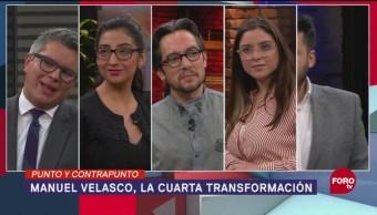 Manuel Velasco Participación Cuarta Transformación AMLO