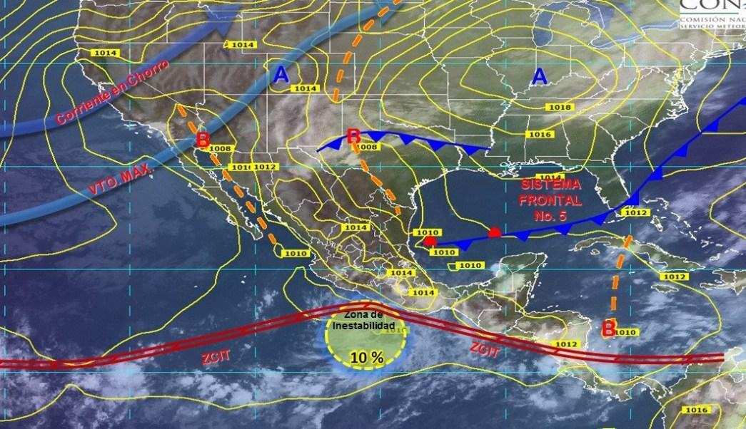 Lluvias fuertes en Sonora y Chihuahua por Sergio