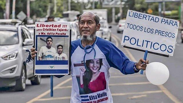 Detienen a maratonista que corre contra Ortega en Nicaragua