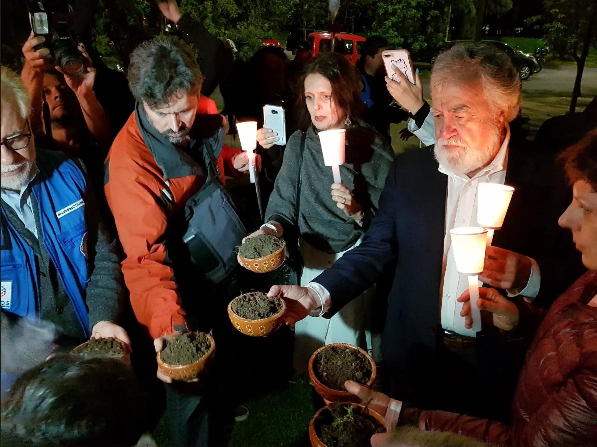 'Marcha del silencio' sobre Reforma conmemora Movimiento del 68
