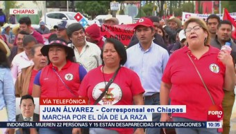 Marchan Integrantes Cnte Chiapas