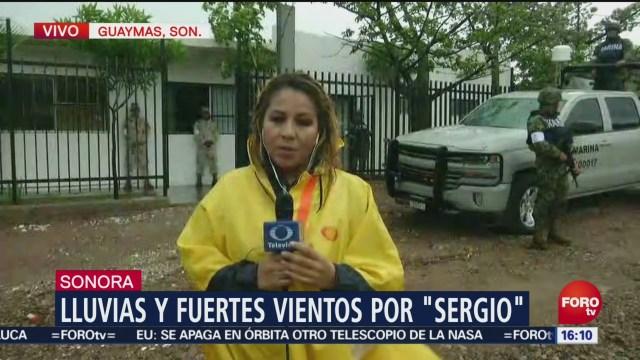 Marina apoya en el rescate de personas en Guaymas, por Sergio