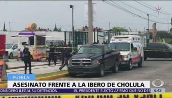 Matan a hombre afuera de la Universidad Iberoamericana