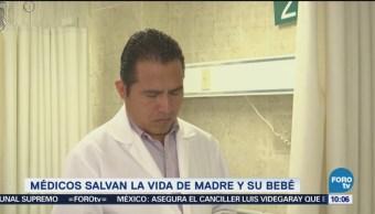 Médicos Salvan La Vida Madre Bebé Oaxaca