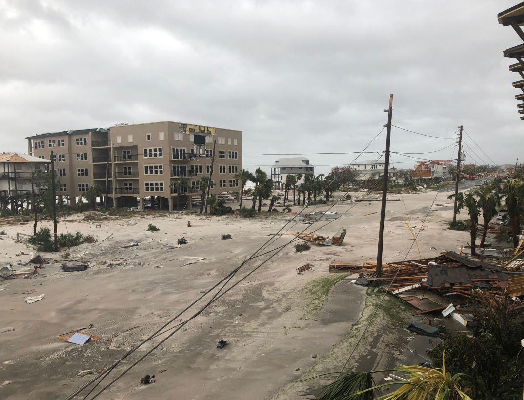 Mexico Beach devastado por huracán Michael