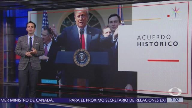 México, Canadá y Estados Unidos logran acuerdo comercial