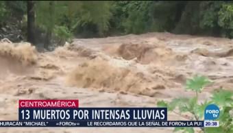 Reportan 13 Muertos Lluvias Causadas Michael Centroamérica