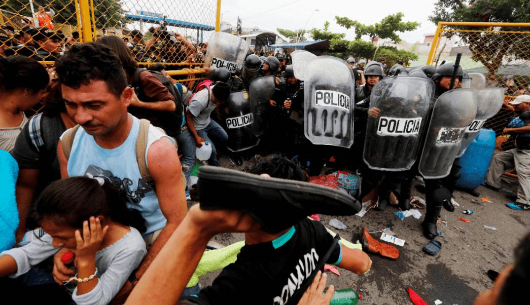 Caravana: Fuerzas Armadas 'están esperando', dice Trump