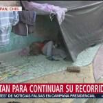 Migrantes pernoctarán en Pijijiapan, Chiapas