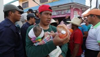 Derechos humanos de migrantes en caravana sí han sido violados, dice CNDH
