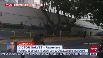 Michael Pompeo se reunirá con canciller Luis Videgaray